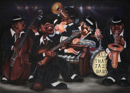 J289D - Jones, Leonard - All That Jazz, Baby!