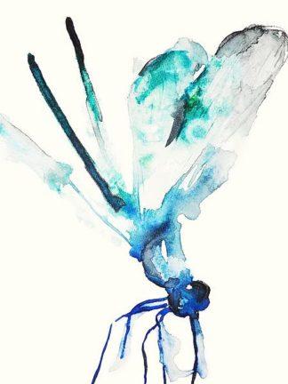 J363D - Johannesson, Karin - Blue & Green Dragonfly