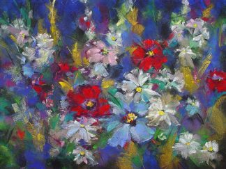 K2302D - Kindl, Anne - Red, White and Bloom