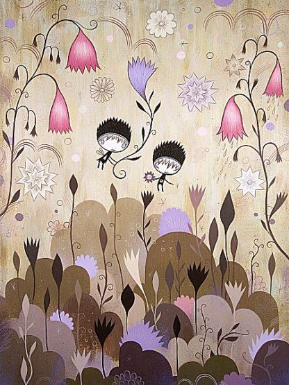 K2443D - Ketner, Jeremiah - Garden of Sleeping Flowers I
