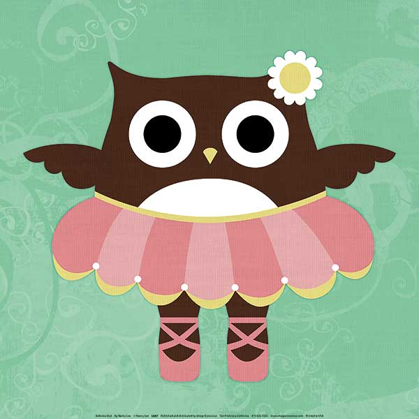L687 - Lee, Nancy - Ballerina Owl