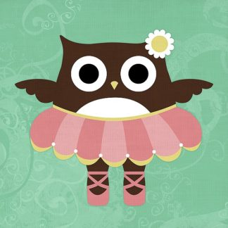 L687D - Lee, Nancy - Ballerina Owl