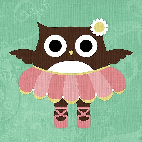 L687D - Lee, Nancy - Ballerina Owl