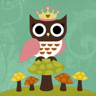 L692D - Lee, Nancy - Princess Owl