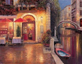 L752D - Liu, Haixia - Night Café after Rain