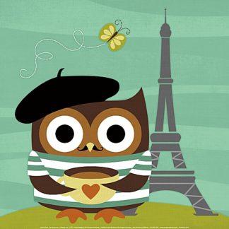 L759 - Lee, Nancy - Owl in Paris