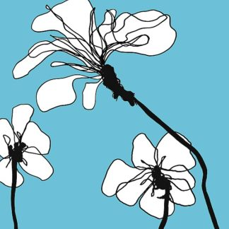 L788D - Loeber, Mette - Flowers in Blue 1