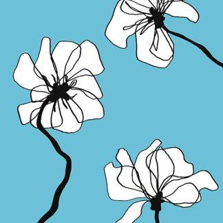 L789D - Loeber, Mette - Flowers in Blue 2