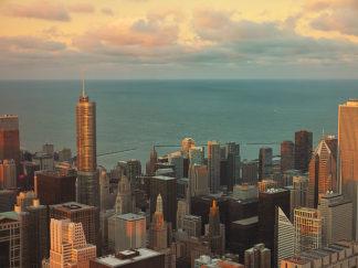 L807D - Levant, Jessica - Sunset in Chicago