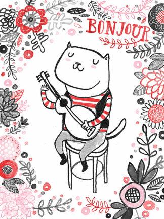 L808D - Lowen, Lauren - Cats of Paris - Musician