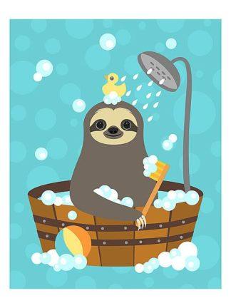 L820 - Lee, Nancy - Bathing Sloth