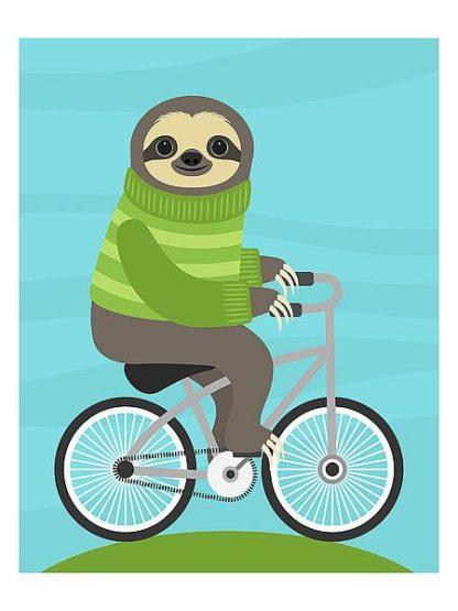 L821 - Lee, Nancy - Cycling Sloth