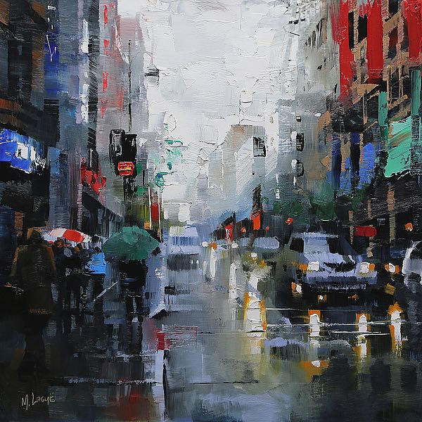 L830D - Lague, Mark - St. Catherine Street Rain