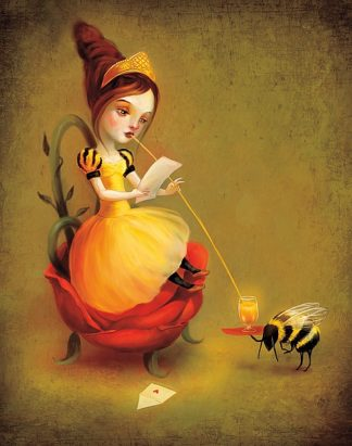 M1136 - Meluseena - Queen Bee Reads a Love Letter