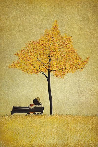 M1266D - Lindberg, Maja - The Cherry Tree - Fall