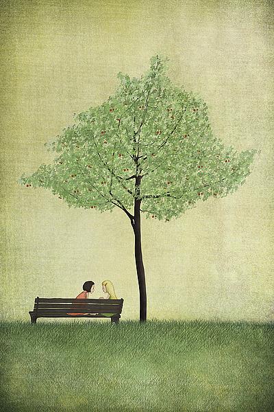 M1267D - Lindberg, Maja - The Cherry Tree - Summer