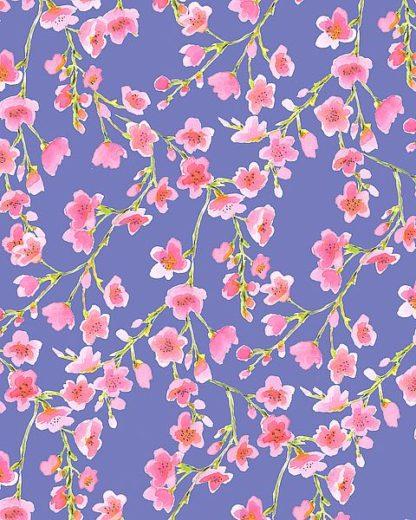 M1377D - Maldonado, Jacqueline - Cherry Blossom Blue