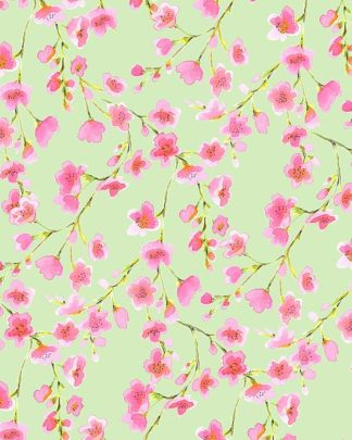M1378D - Maldonado, Jacqueline - Cherry Blossom Green