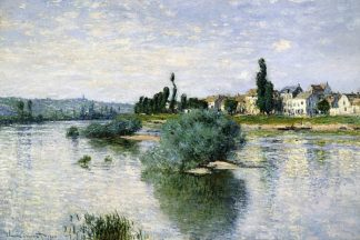 M1393D - Monet, Claude - The Seine at Lavacourt