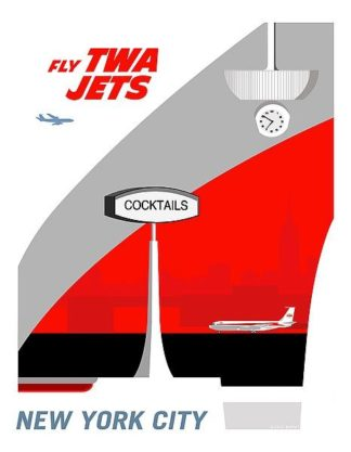 M1437D - Murphy, Michael - Fly TWA Jets