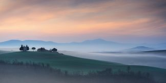 M995D - Mumford, Andy - Capella di Vitaleta at Dawn – Tuscany I