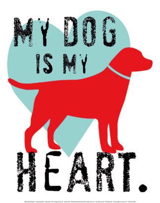 O129 - Oliphant, Ginger - My Dog Is My Heart