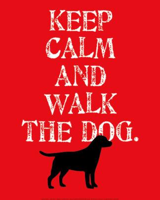 O132 - Oliphant, Ginger - Keep Calm (Labrador)