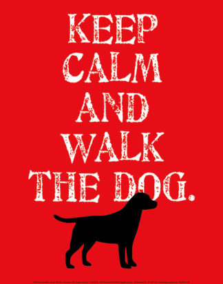 O134 - Oliphant, Ginger - Keep Calm (Labrador)