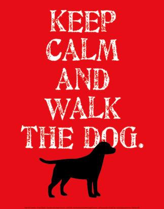 O134 - Oliphant, Ginger - Keep Calm (Labrador)