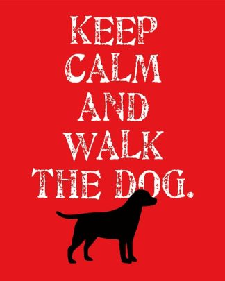 O134D - Oliphant, Ginger - Keep Calm (Labrador)