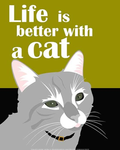 O162 - Oliphant, Ginger - Life is Better with a Cat