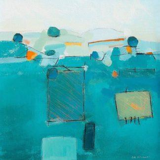 O202D - O'Connor, David - Blue Landscape