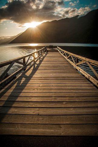 O233D - Oldford, Tim - Crescent Lake Sunset
