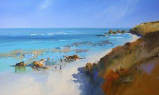 P1049D - Penny, Craig Trewin - On the Back Beach, Sorrento