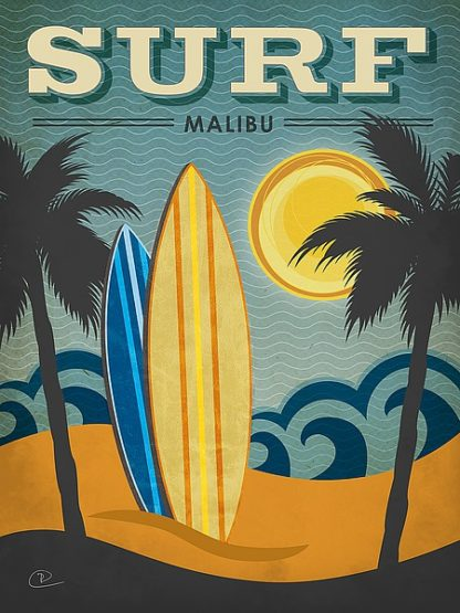 P808D - Pulve, Renee - Surf Malibu