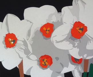 P974D - Porter, Susan - White Narcissus