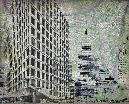 R672D - Roberts, Art - Cityscape I