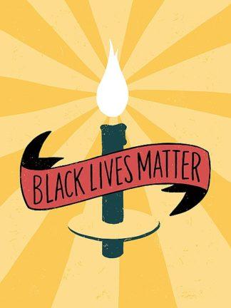 R835D - Rasmussen, Emily - Black Lives Matter - Candle