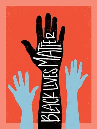 R836D - Rasmussen, Emily - Black Lives Matter - Hands