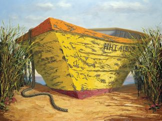 S1064D - Soderlund, Karl - Yellow and Orange Rowboat