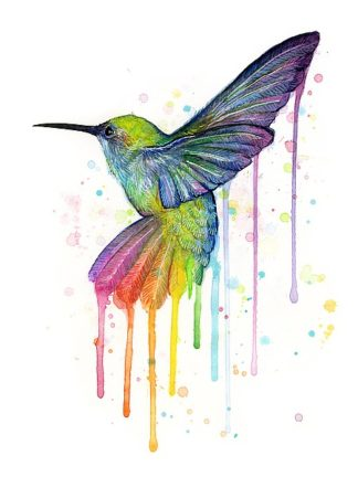 S1272D - Shvartsur, Olga - Rainbow Hummingbird