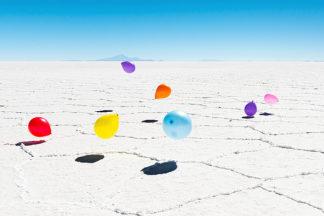 S1332D - Silver, Richard - Balloons Three, Salar de Uyuni, Bolivia