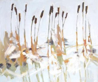 S1369D - Sutliff, Julia - Cattails and Ice