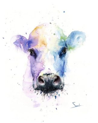 S1460D - Sweet, Eric - Abstract Cow