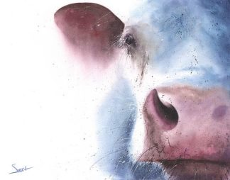 S1466D - Sweet, Eric - Watercolor Cow