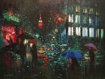 S1492D - Shin, Chin H. - Night Rain in NY