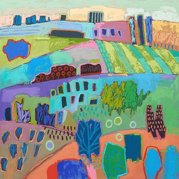 S1536D - Schmidt, Jane - If Happy Was a Landscape