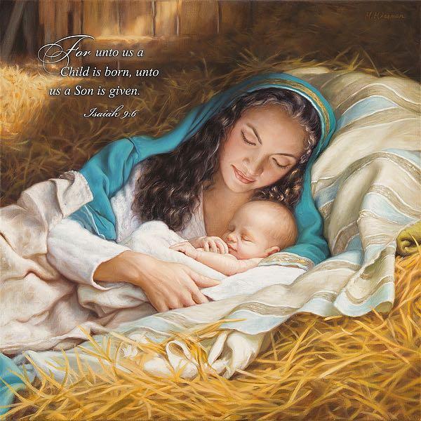 SBAJ1143 - Missman, Mark - A Child is Born