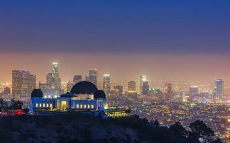 T538D - Toby Harriman Visuals - L.A. Skyline with Griffith Observatory