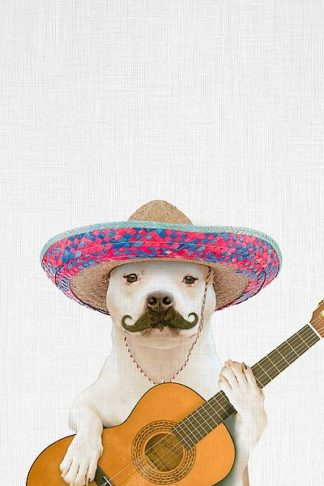 T560D - Tai Prints - Dog Guitarist